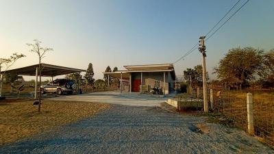 บ้านพร้อมที่ดิน 1350000 สุพรรณบุรี ดอนเจดีย์ สระกระโจม